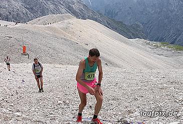 11. Zugspitz Extremberglauf - Ziel